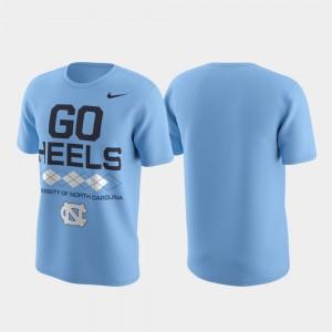 College T-Shirt Performance Local Verbiage Carolina Blue Mens North Carolina