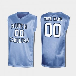 #00 Special Basketball UNC Tar Heels College Customized Jerseys Royal March Madness For Men