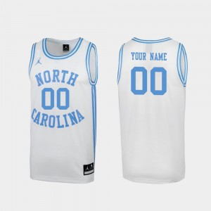 University of North Carolina March Madness White #00 Special Basketball For Men's College Custom Jerseys