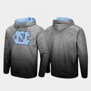 University of North Carolina Heathered Gray Pullover Mens Sitwell Sublimated College Hoodie