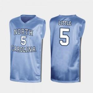 March Madness #5 Royal North Carolina Tar Heels Nassir Little College Jersey Special Basketball Mens