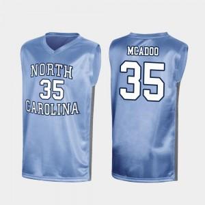 North Carolina Tar Heels Special Basketball #35 March Madness Royal Ryan McAdoo College Jersey For Men