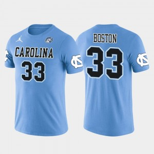 Tre Boston College T-Shirt Future Stars #33 Men's Arizona Cardinals Football Light Blue North Carolina