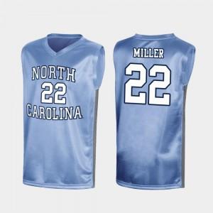 March Madness Special Basketball #22 North Carolina Tar Heels Walker Miller College Jersey Men's Royal