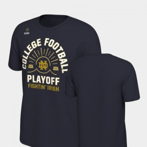 Navy For Men's ND 2018 Football Playoff Bound Sun College T-Shirt