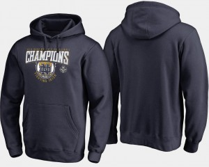 For Men Basketball 2018 National Champions Rebound Women's Basketball College Hoodie Navy ND