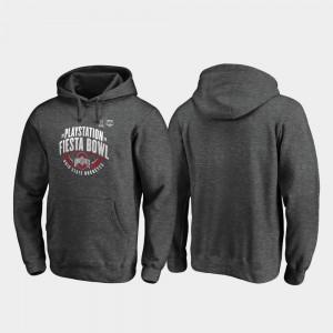 Heather Gray 2019 Fiesta Bowl Bound College Hoodie For Men's Scrimmage Ohio State