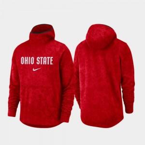 For Men College Hoodie Basketball Team Logo Pullover Scarlet Ohio State Buckeyes Spotlight