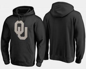 Camo Cloak Big & Tall Men College Hoodie Black Oklahoma Sooners