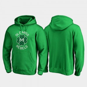 Kelly Green College Hoodie Luck Tradition Rebels St. Patrick's Day For Men's