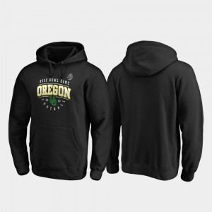 2020 Rose Bowl Bound College Hoodie Men's Tackle Black Oregon