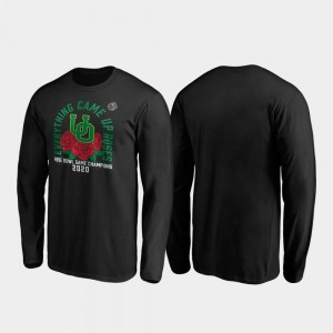 Receiver Long Sleeve UO Black Mens 2020 Rose Bowl Champions College T-Shirt