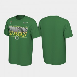 Green 2020 Rose Bowl Champions Locker Room Ducks For Men College T-Shirt