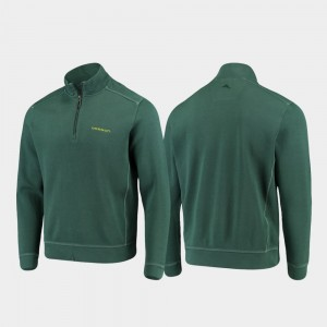 College Jacket UO Green Sport Nassau For Men's Half-Zip Pullover Tommy Bahama