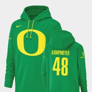 Champ Drive Green Oregon Duck Hunter Kampmoyer College Hoodie Men Football Performance #48