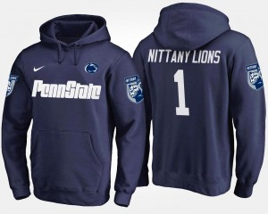 PSU No.1 Navy Mens #1 College Hoodie