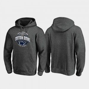 Heather Gray 2019 Cotton Bowl Bound College Hoodie For Men Scrimmage Nittany Lions