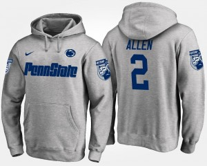 Penn State For Men's #2 Marcus Allen College Hoodie Gray