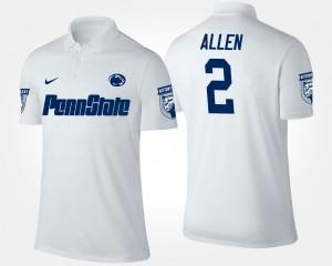 PSU #2 Marcus Allen College Polo For Men White