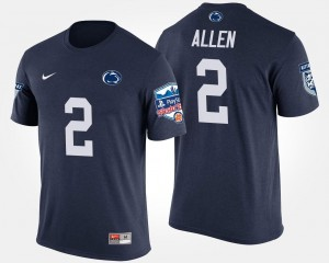 Navy PSU Marcus Allen College T-Shirt Bowl Game For Men #2 Fiesta Bowl