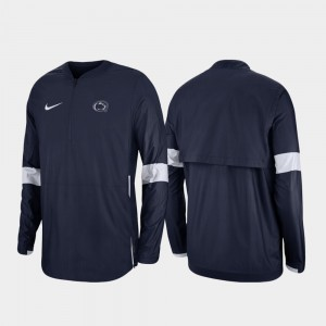 Quarter-Zip College Jacket 2019 Coaches Sideline Mens Nittany Lions Navy