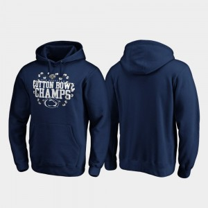 2019 Cotton Bowl Champions Men Navy Receiver Penn State College Hoodie