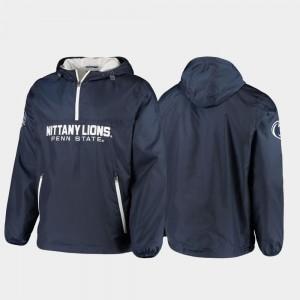 Base Runner Half-Zip Navy Men's PSU College Jacket
