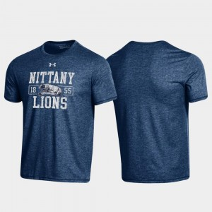Bi-Blend College T-Shirt Men Navy Nittany Lions Property Of Stack