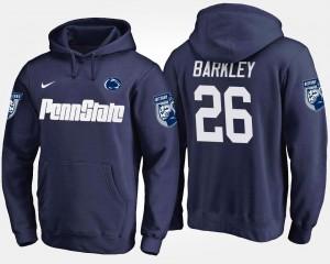 #26 Navy Saquon Barkley College Hoodie Men's Penn State