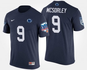 Navy Bowl Game Men's Fiesta Bowl #9 Trace McSorley College T-Shirt PSU