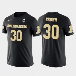 #30 Purdue University Mens Anthony Brown College T-Shirt Future Stars Dallas Cowboys Football Black