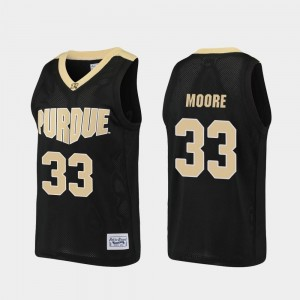 Basketball Mens Black #33 Purdue E'Twaun Moore College Jersey Alumni
