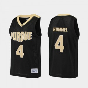 Boilermaker Alumni Basketball Robbie Hummel College Jersey Men's #4 Black