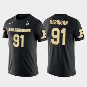 Washington Redskins Football For Men's Future Stars #91 Ryan Kerrigan College T-Shirt Boilermaker Black
