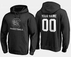 For Men #00 Basketball - College Custom Hoodies Black Gamecocks