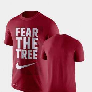 College T-Shirt Cardinal Stanford For Men's Performance Legend Franchise