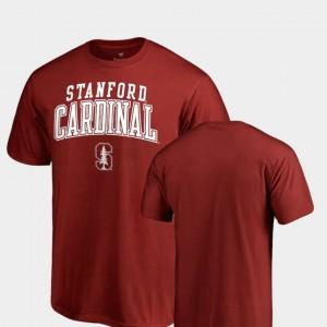 Men's Square Up College T-Shirt Cardinal Cardinal