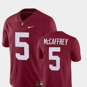 Alumni Football Game Cardinal For Men Christian McCaffrey College Jersey #5 Stanford Player