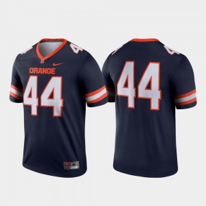Syracuse College Jersey Football #44 For Men Navy Legend