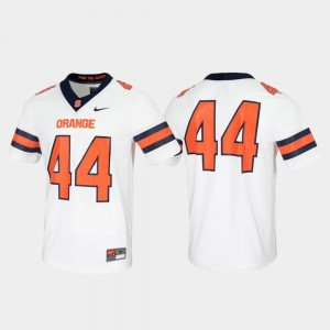 For Men White College Jersey Untouchable #44 Syracuse University Game