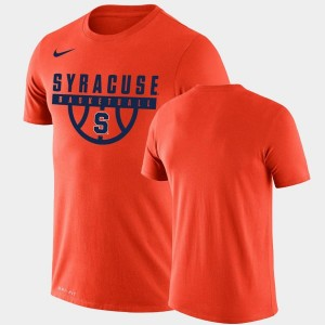 Drop Legend Performance Basketball For Men's College T-Shirt Orange Orange