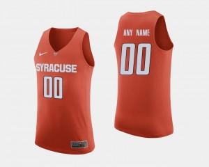 Basketball Orange #00 College Custom Jersey Men Orange