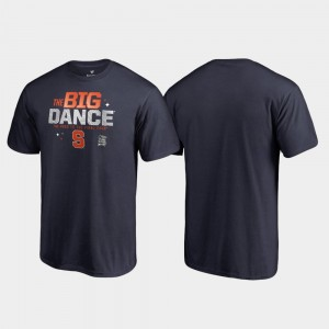 Cuse Navy College T-Shirt March Madness 2019 NCAA Basketball Tournament Big Dance For Men's