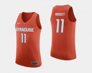 #11 Mens Orange Oshae Brissett College Jersey Basketball Cuse Orange