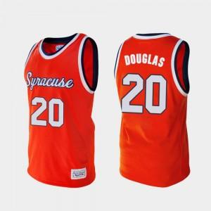 Sherman Douglas College Jersey For Men Orange #20 Alumni Cuse Orange Basketball