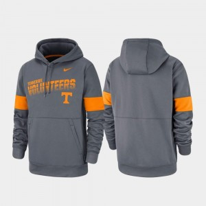 Charcoal Pullover TN VOLS College Hoodie Mens Performance