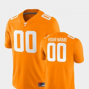 Tennessee Orange College Customized Jersey Mens Football #00 TN VOLS 2018 Game