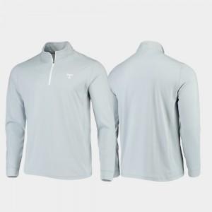 Quarter-Zip Performance Gray For Men College Jacket UT VOL Gameday
