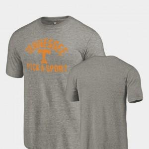 UT Pick-A-Sport Tri-Blend Distressed Gray College T-Shirt Mens