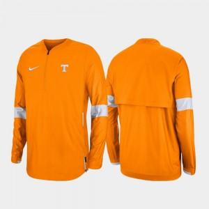 VOL Tennessee Orange Quarter-Zip For Men's 2019 Coaches Sideline College Jacket